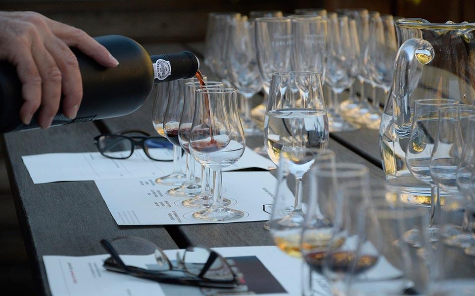 Curso de percepción sensorial de vinos