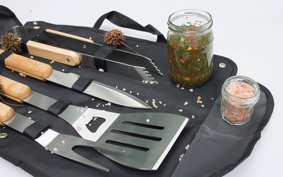 Kit para hacer asados