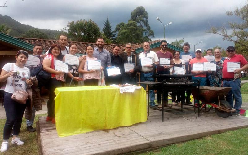 Curso de asado argentino en Colombia