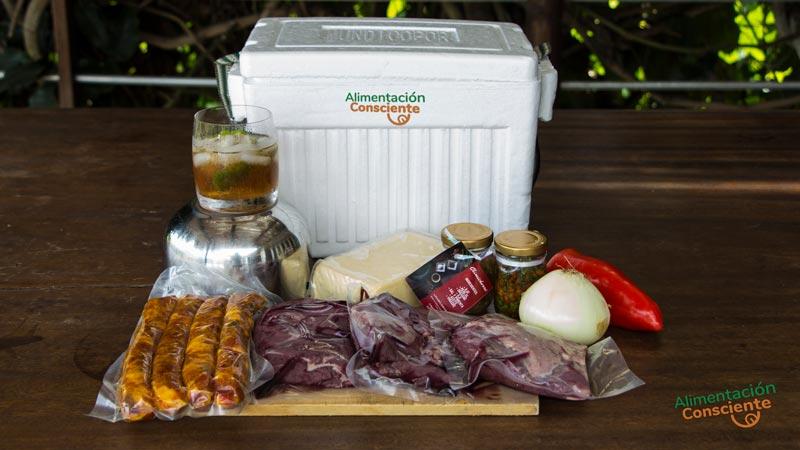 Kit del curso de asado argentino