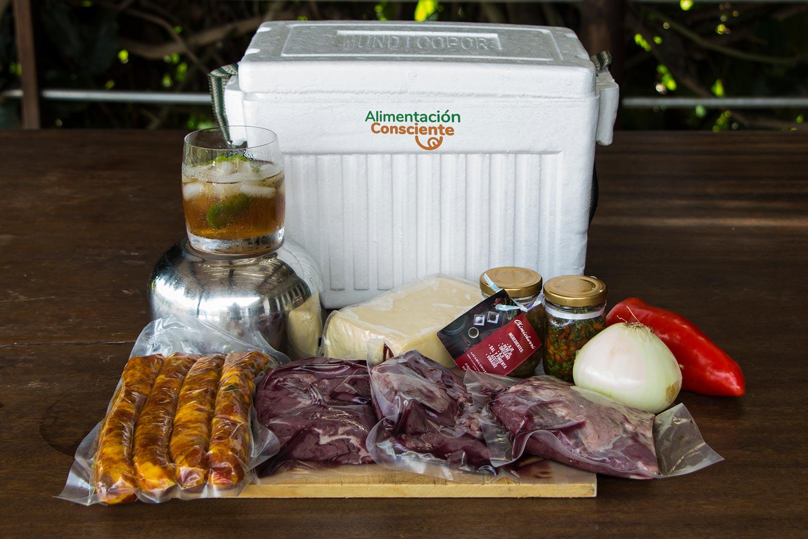 Kit para asado argentino
