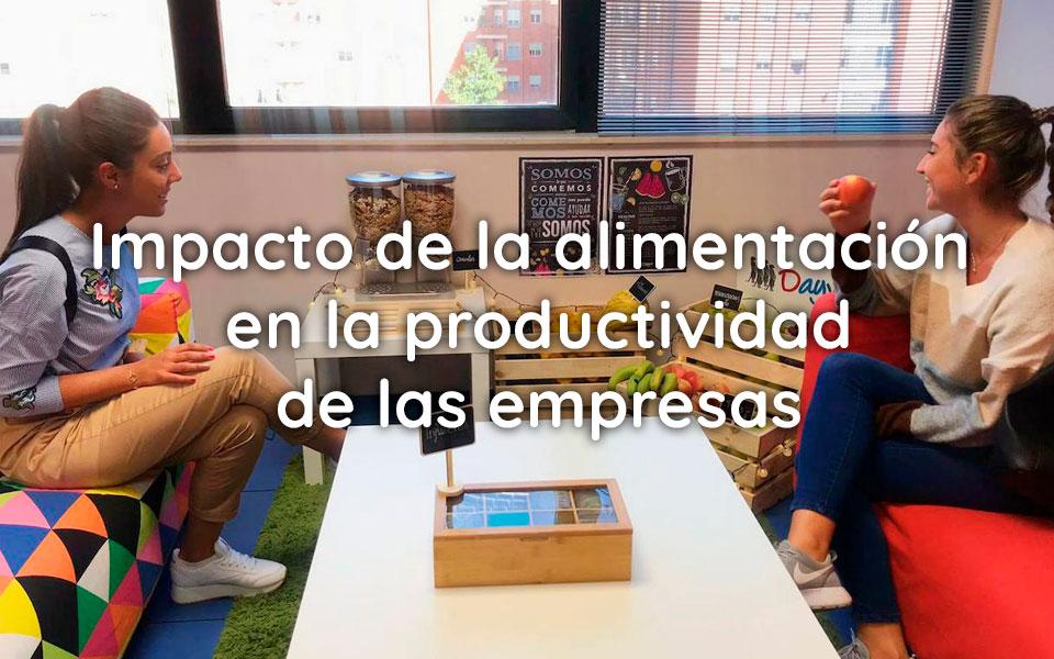 Impacto de la alimentación en la productividad de las empresas